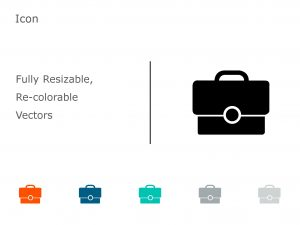 Briefcase Business PowerPoint Icon 11