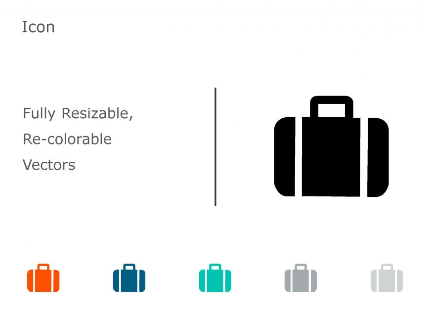 Briefcase Business PowerPoint Icon 16