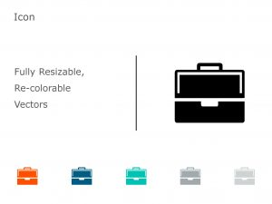 Briefcase Business PowerPoint Icon 19