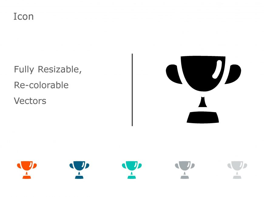 Trophy Achievements PowerPoint Icon 01