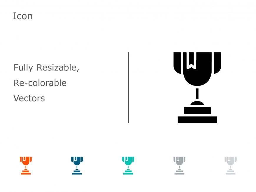 Trophy Achievements PowerPoint Icon 03