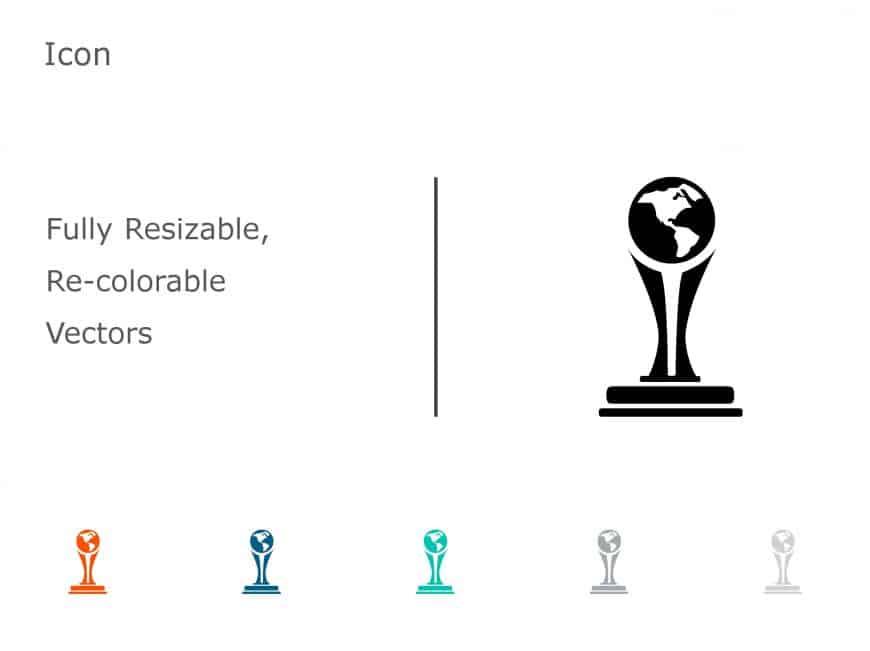 Trophy Achievements PowerPoint Icon 06