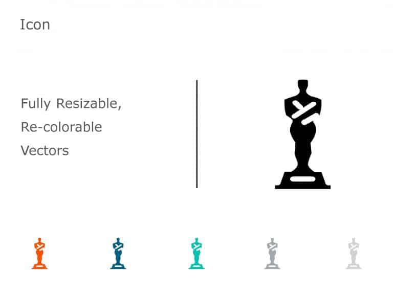 Trophy Achievements PowerPoint Icon 07