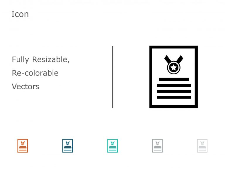 Accomplishments PowerPoint Icon 04