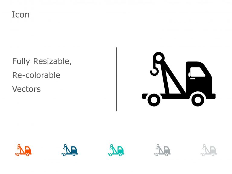 Logistics Transport PowerPoint Icon 04