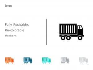 Logistics Transport PowerPoint Icon 10