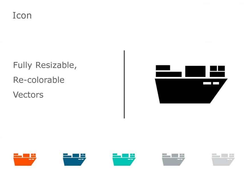 Logistics Transport PowerPoint Icon 12