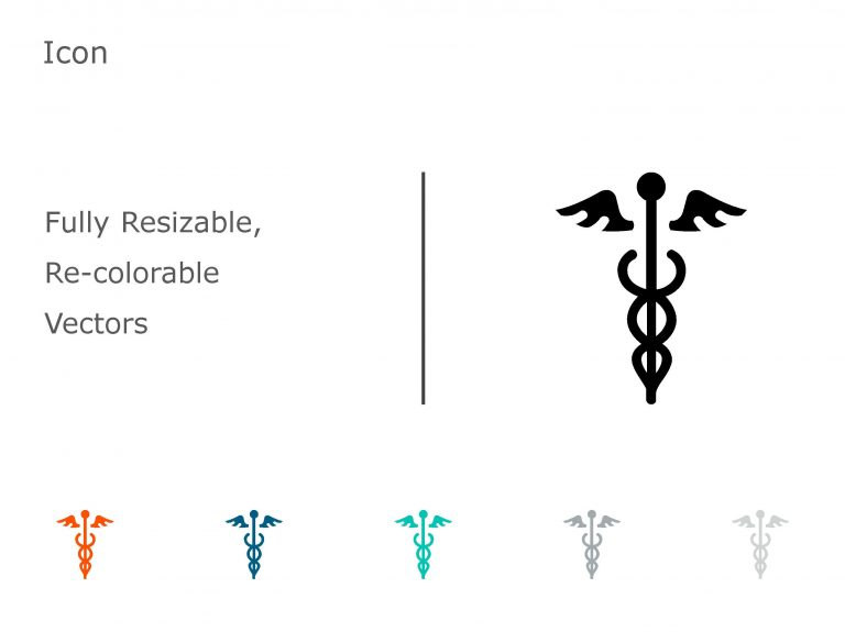 Caduceus PowerPoint Icon 07