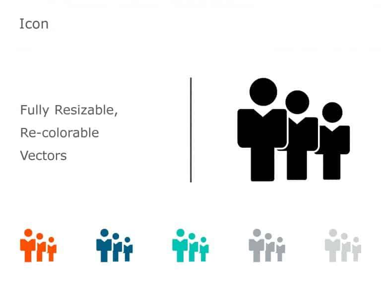 Team PowerPoint Icon 10