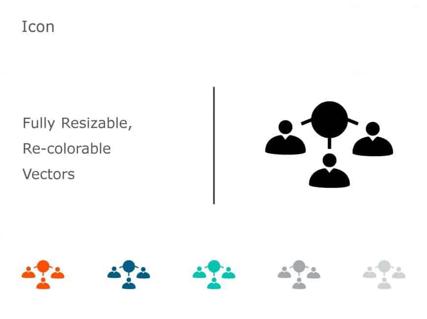 Team PowerPoint Icon 11