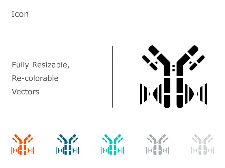 Anti-Infectives & Antibody PowerPoint Icons 13