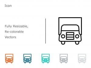Truck PowerPoint Icon 1