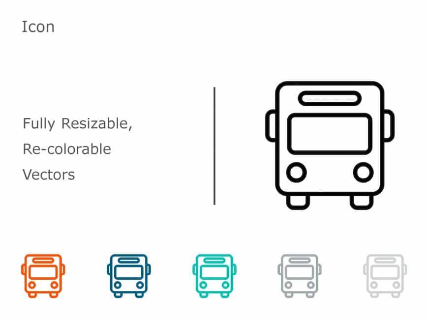 Bus PowerPoint Icon 1
