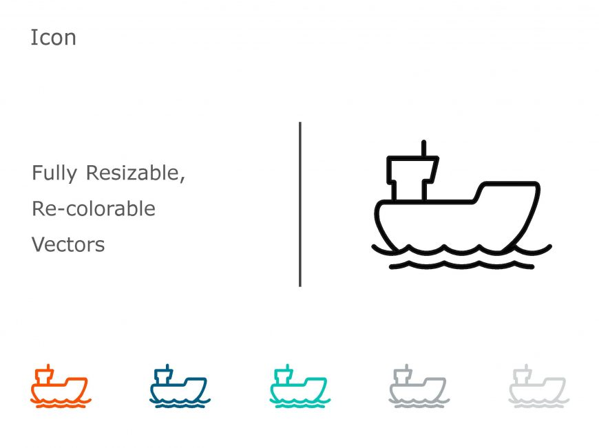 Ship PowerPoint Icon 1