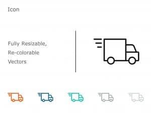 Truck PowerPoint Icon 2