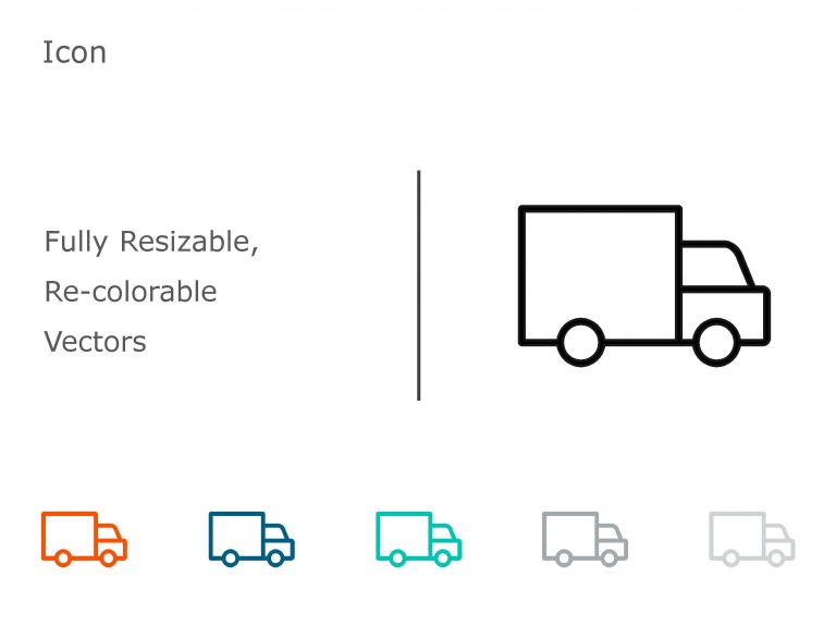 Truck PowerPoint Icon 3