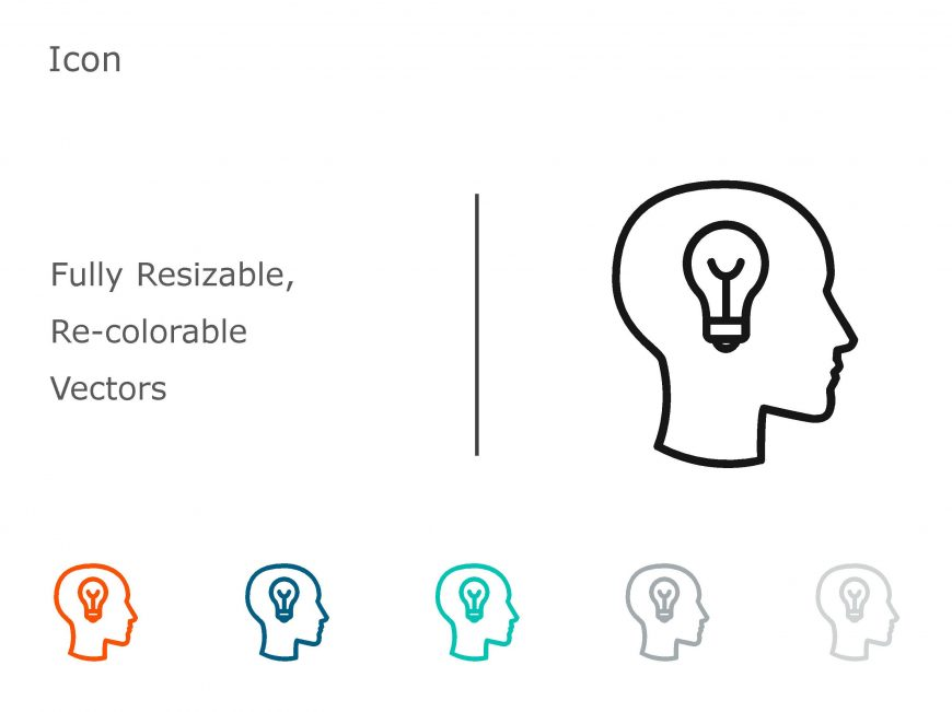 Idea PowerPoint Icon 1