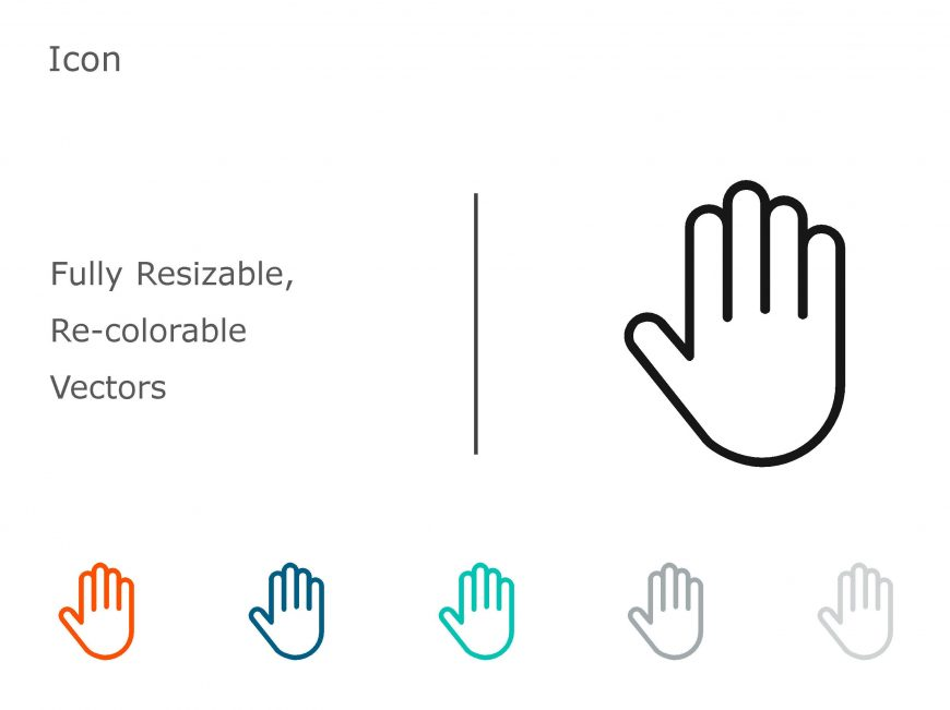 Hand Powerpoint Icon 1