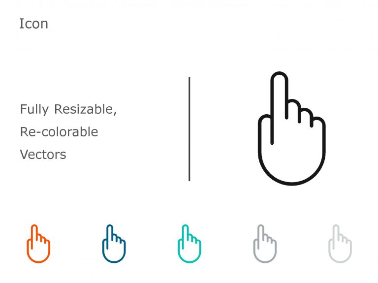 Finger Powerpoint Icon 2