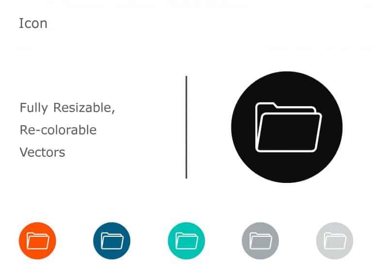 Folder PowerPoint Icon 1