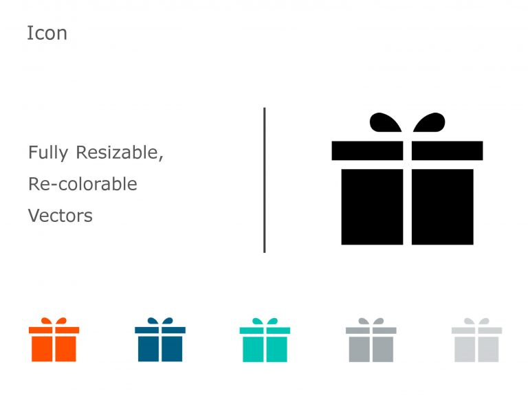 Gift PowerPoint Icon 5