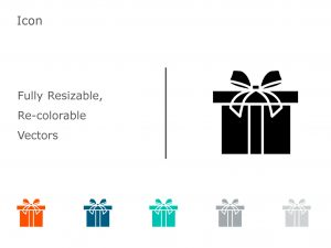 Gift PowerPoint Icon 6