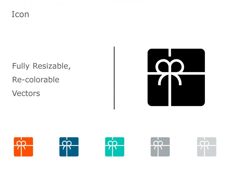 Gift PowerPoint Icon 9