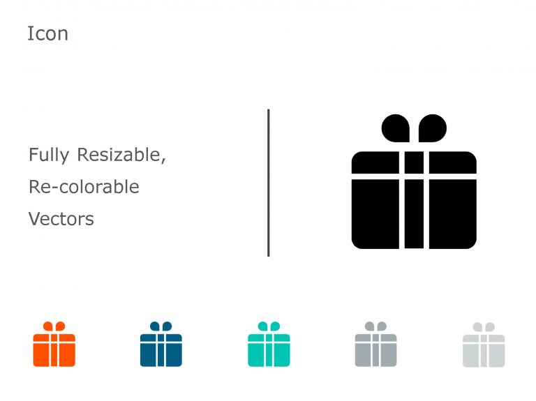 Gift PowerPoint Icon 10