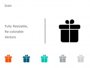 Gift PowerPoint Icon 11