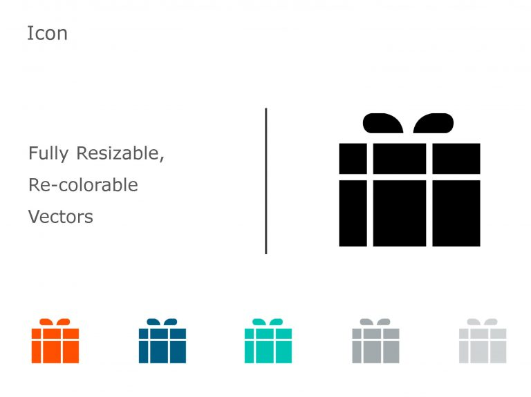 Gift PowerPoint Icon 12
