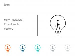 Bulb PowerPoint Icon 1