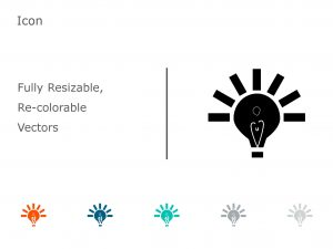 Bulb PowerPoint Icon 4