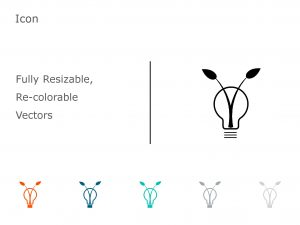 Bulb PowerPoint Icon 10-2