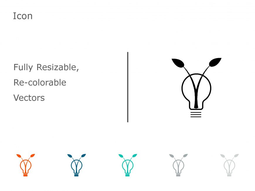 Bulb PowerPoint Icon 10