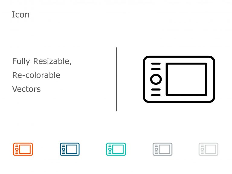 Gadgets and Technology PowerPoint Icon 11