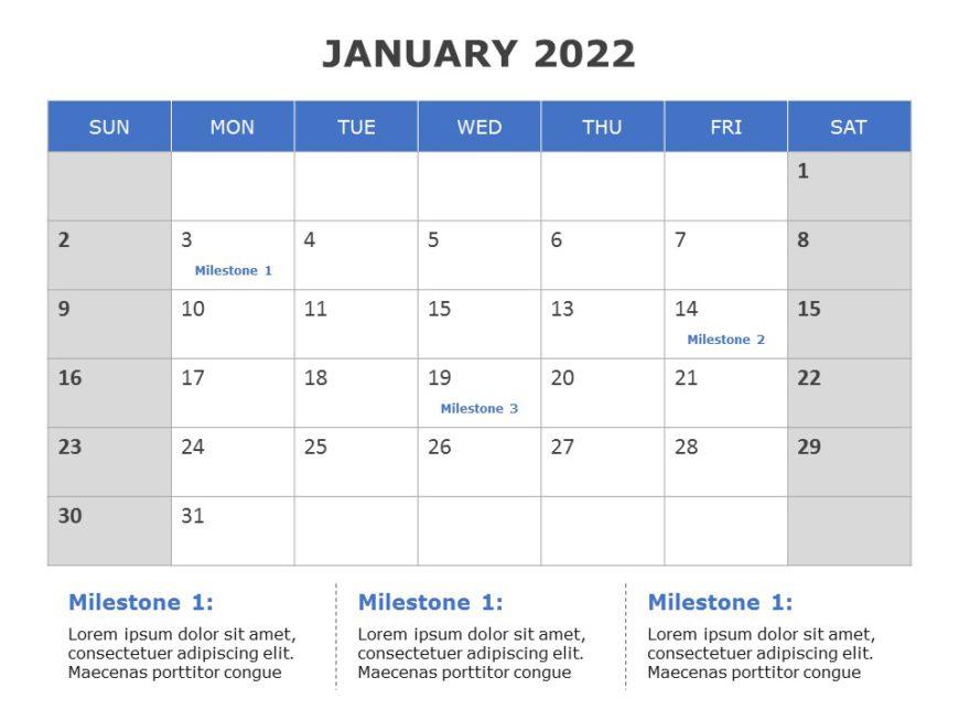 2022 PowerPoint Calendar Template 06