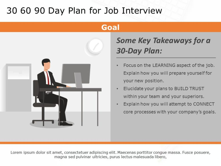 30 60 90 day job plan