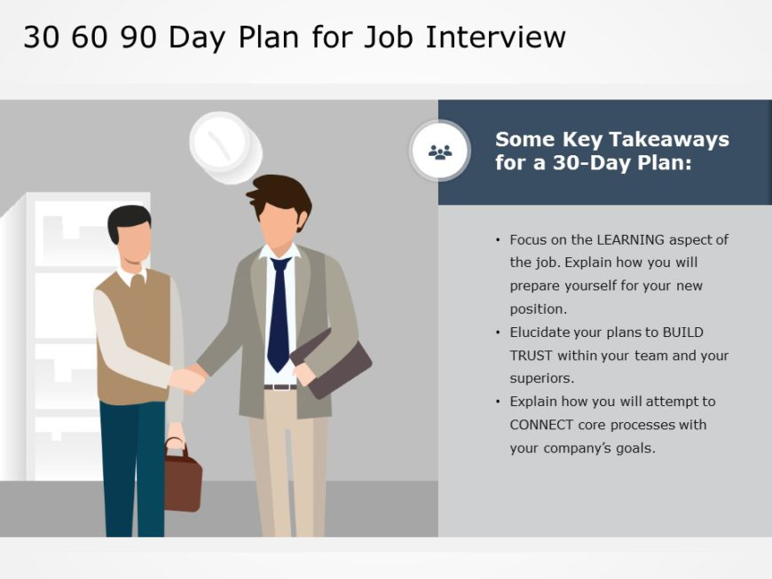 30 60 90 day plan job interview