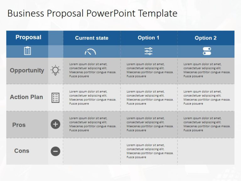 Animated Business Proposal PowerPoint Template