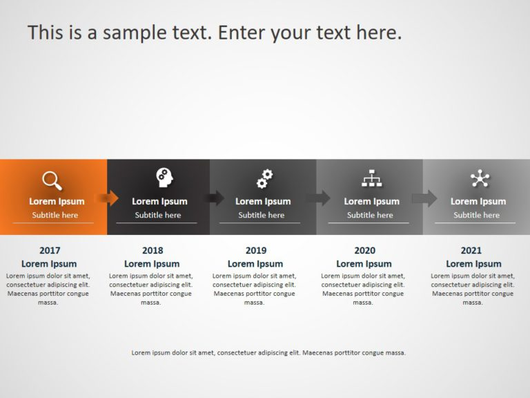 Animated Business Roadmap PowerPoint Template 21