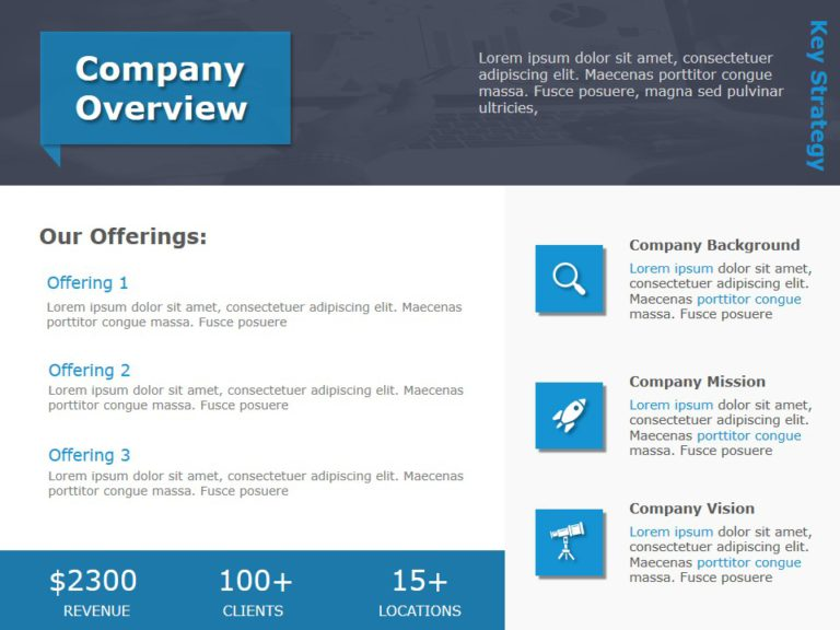 Animated Company Overview PowerPoint Template 5