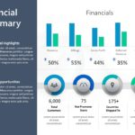 Animated Financial Summary PowerPoint Template 5