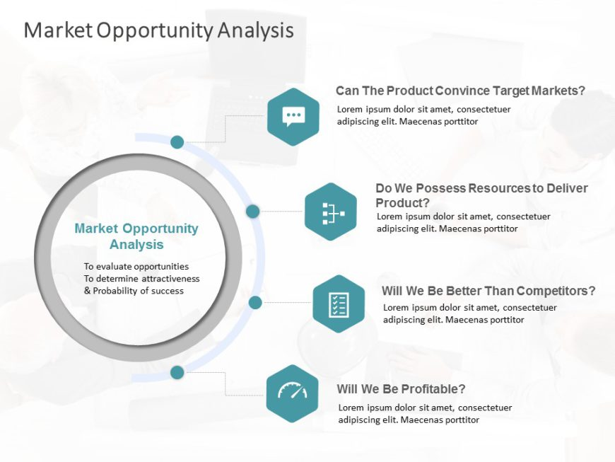 Animated Market Opportunity Analysis Template