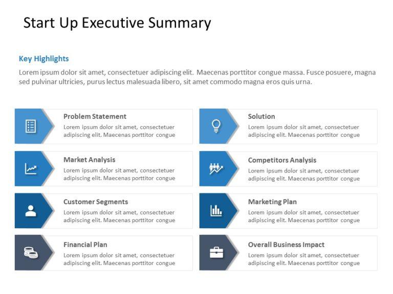 Animated Start Up Executive Summary