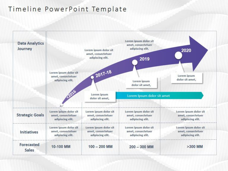 Animated Timeline PowerPoint Template 51