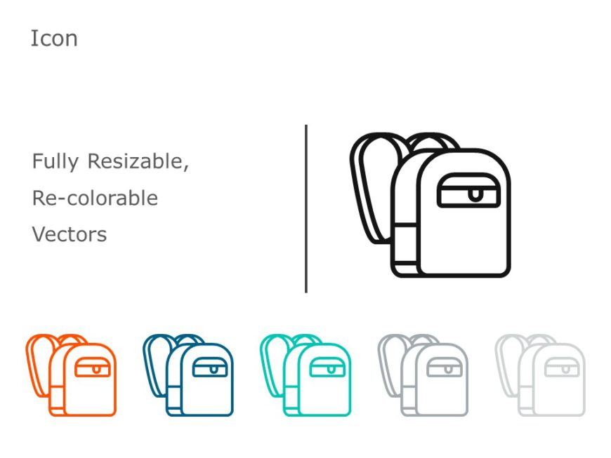 Backpack Icon 05
