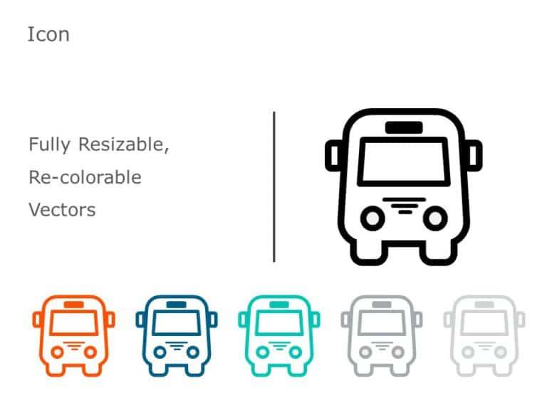 Bus Icon 04