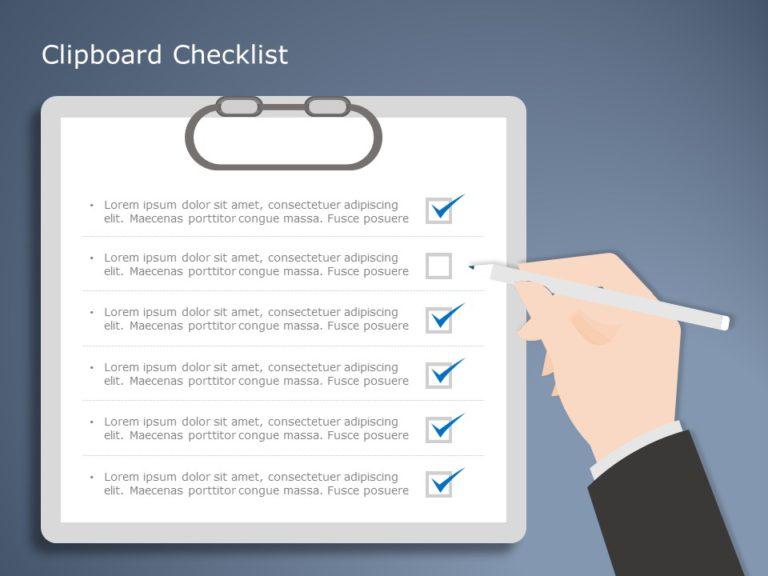 Free Clipboard Checklist