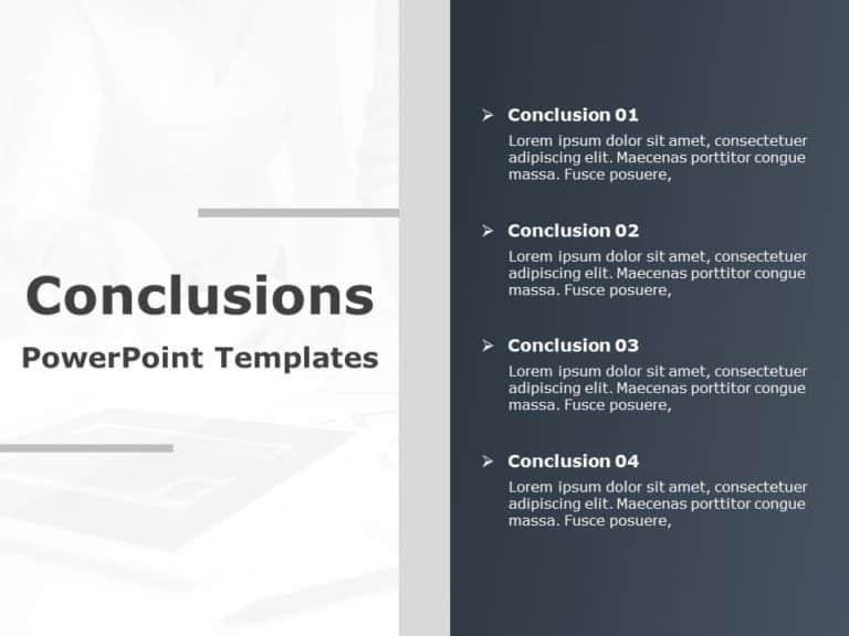 Conclusion Slide 19