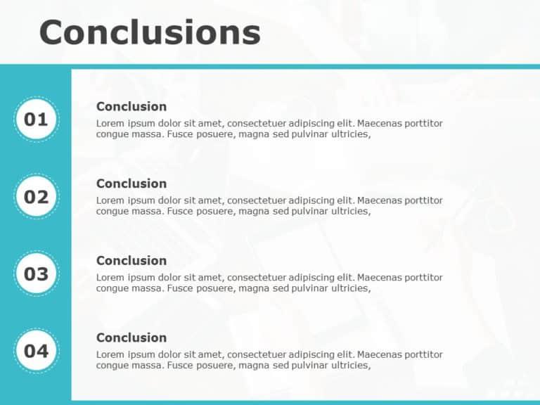 Conclusion Slide 20